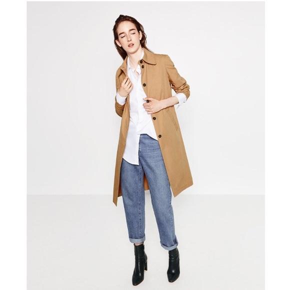 """931bdf74 Zara """"Awesome"""" Trench Coat. M_5a52deae9cc7efea7e010f87"""